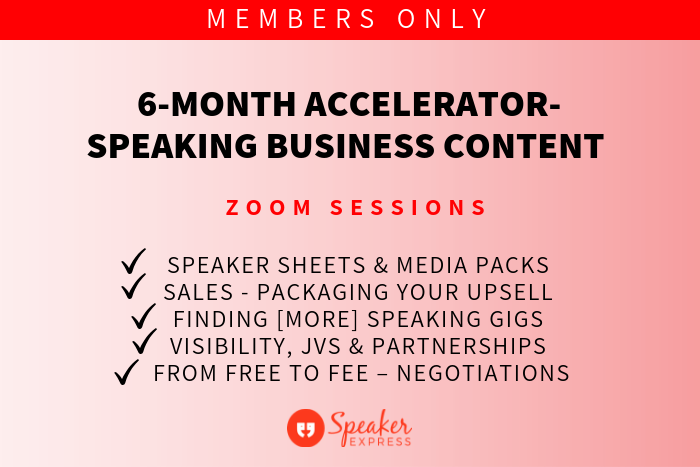 Protected: 6-month Accelerator – Speaking Business Content ZOOM Sessions